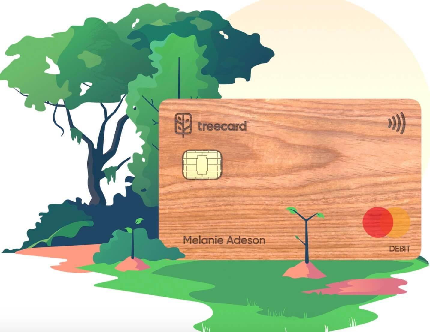 TreeCard的申请,美国万事达借记卡